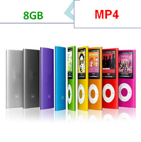 MP5 player 8GB MP3 MP4 MP5 music Player with  LCD Screen, FM Radio, Games , Movie Player ,Ebook and support picture show