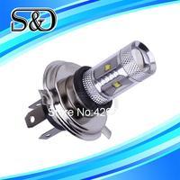 S&D Brand 12pcs H4 30W Cree XBD LED cars Fog Head lights Bulb auto Lamp Vehicles Signal Tail parking car light source  parking
