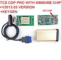 DHL Free shiping 2013 03 TCS cdp pro with M6636B OKI Chip plus bluetooth support for cars &trucks with full function for FORD