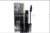 1pcs/lot high quality brand nameblack Mascara to cream thick long double effect Mascara false lash effect Free shipping