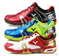 VICTOR Badminton Shoes 2014 South Korean National Team Badminton Shoes SH-P9100D/E/FG Men and Women Breathable Sports shoes L034