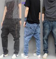 2014 new arrive spring low rise men harem jeans mens skinny  harem jeans male designer jeans men  plus size plus size 40