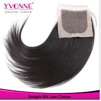 Virgin Brazilian Silk Base Closure,Straight Human Hair Top Closure 4x4,10-18 Inches Aliexpress Yvonne Hair Products