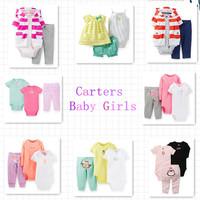 Original Carter's Baby Girls 3pcs Clothing Set,Baby Girls Summer Fashion Set,Fashion Clothing Set For Girls,Freeshipping