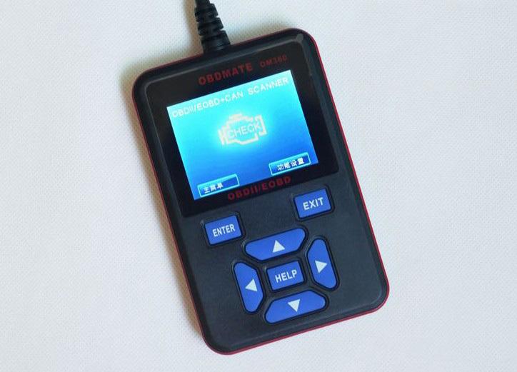 Car detector diagnostic tester card decoder obd om360 Free Shipping(China (Mainland))