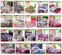 New 2014 bedding set blue mouce fashion 4 pcs ( duvet cover+flat sheet+2pillow case) free shipping