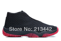 J Future Black Infrared basketball shoes size: 8 - size:13