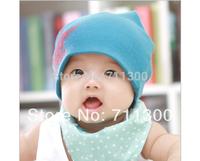 wholesale 5pcs/lot new 2014 baby & kids fashion star cotton beanie hat boys & girls skullies cap children accessories