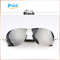 Free Shipping 2014 New Cool Outdoor Glasses Multi Colors Polarized  Unisex Frog Mirror Uv400 Sunglases Wholesale