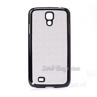 Free Shipping! DIY 2D Sublimation Blank Glossy Hard Plastic Case and 3M Glue with Aluminum Inserts for Samsung Galaxy S4