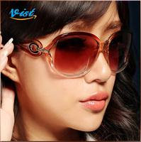 2014 New Summer Outdoor Sunglasses Women Multi Colors Plastic Women Sunglass Uv400 Retro Sunglasses Wholesale
