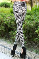 2014 newsThicken  embroidery cat ear leggings stretch cotton female long  leggings women  pants