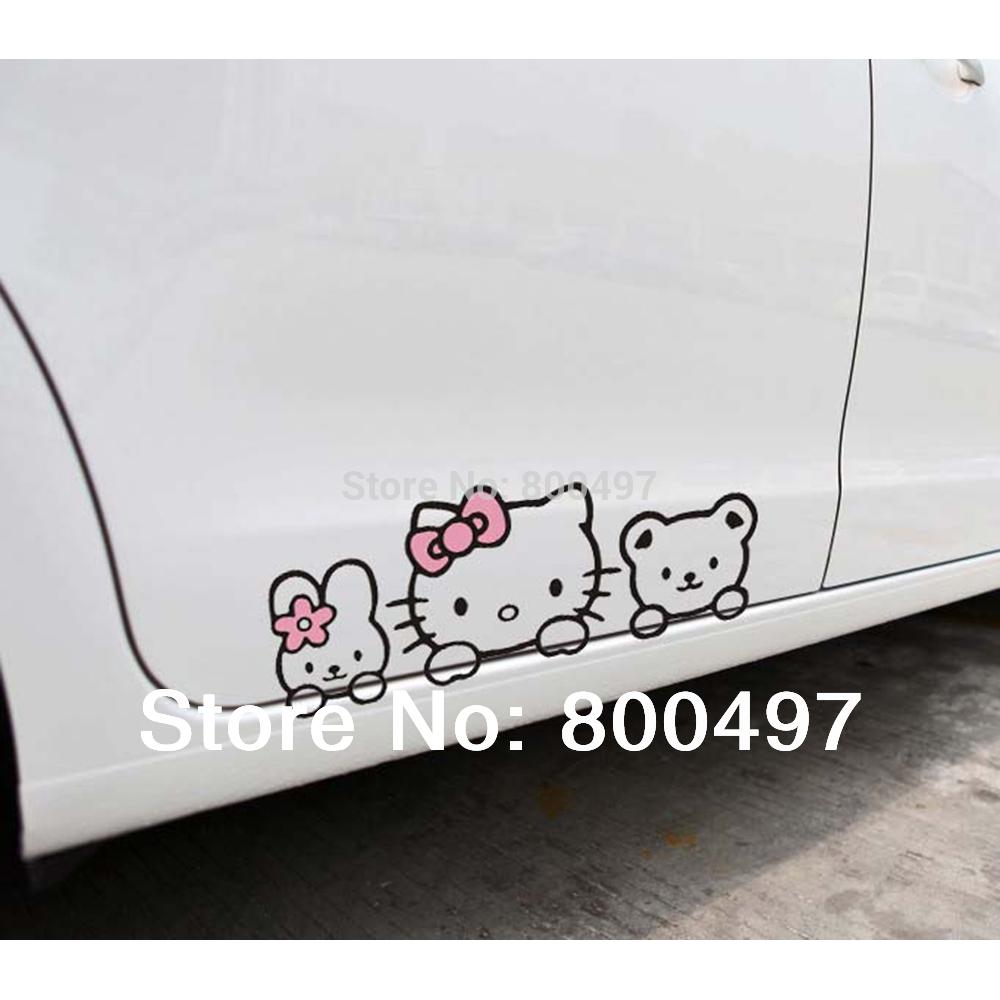 Hello Kitty Car Sticker Malaysia Hello Kitty Car Stickers Car
