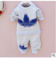 Promotion 2014 spring new Korean boy suits wholesale children cotton casual long-sleeved pants suit