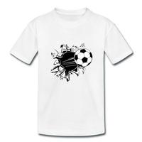 Soccer Ball Design Childrens New Arrival Fashion Tops Sportswear Premium Tee Shirts