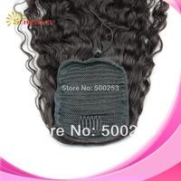 Stock Sunnymay Brazilian Virgin Human Hair Natural Curl Ponytail