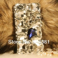 Bling Diamond Crystal Luxury Hard Case Cover For  Apple iphone 4 4s Phone