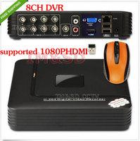 2014 NEW 8CH Channel H.264 Home Network Mini CCTV DVR P2P 8CH Channel H.264 CCTV DVR Network Home P2P Security Video Recorder
