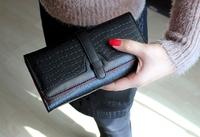 Free Shipping PU Leather Women Purse Ladies Long Wallet Fashion Womens Wallets Change Purse Designer Women Wallets AA135