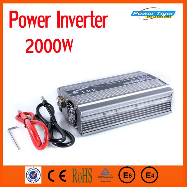 цена  Инвертирующий усилитель мощности Power Tiger 2000 Auto DC 12V 220V  онлайн в 2017 году
