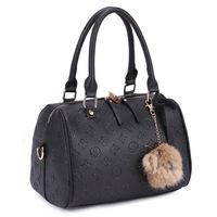spectial price new 2014 women messenger bag fashion bucket bag embossed shoulder bag b120P5