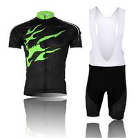 Bicicleta Mountain Bike Clothing Set Maillot Ciclismo MTB Sport Suit Men Bicycle Cycling Jerseys Cycling Bib Shorts 2014