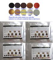 10 colors Loss Hair Keratin Powder Regrowth Breakthrough Keratin Fibers Building Color Stylilng for Men Women Colutions 100g