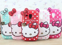 For samsung galaxy s3 mini case hello kitty silicone cover case for samsung galaxy s3 mini i8190