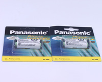 2pcs New 830mAh 2.4V HHR-P105 Cordless Phone Battery for Panasonic with Card package Free Shipping