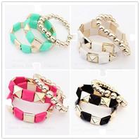 Cheap gift bracelet 2014 new!HOT!!!Fashion women Bracelets & Bangles  jewelry wholesale free shipping