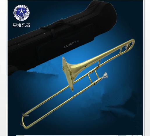 Xinghai slide trombone alto instrument B western wind instruments surface paint(China (Mainland))