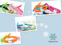 Hello Kitty DIY Bracelet, Fashion Bracelet,DIY hello kitty bracelet the cat head send  random