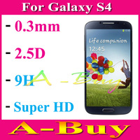 2.5D Round Explosion-Proof Premium Tempered Glass Screen Protector Protection Guard For Samsung Galaxy S4 S 4 IV i9500 i9505