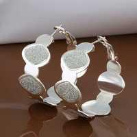 Free Shipping Wholesale 925 Sterling Silver Earring,925 Silver Fashion Jewelry,New Style Earrings SMTE467