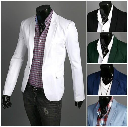 Mens Green Suit Jacket Fit Suit Jacket Ceket Mens