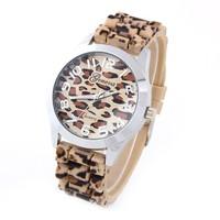 Women Dress Watches Geneva Leopard Steampunk Quartz Watch Brand Wristwatches Reloj Mujer Fashion watch for woman New 2014 Sale