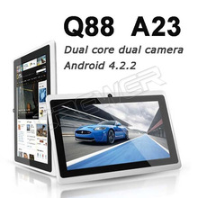 Cheap Dual Core 7inch Tablet New Q88 Actions ATM7021 1 5 Ghz tablet pc Android 4