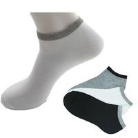 10Pieces=5pairs(1lot )2014 Fashion Men Active Socks Korean Style Men's Casual Socks Cotton High Quality Black Grey White 3Colors