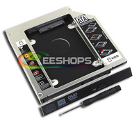 for Lenovo Ideapad G580 G480 G570 G780 Series Notebook 2nd HDD SSD Caddy Second Hard Disk Drive CD DVD Optical Bay Replacement