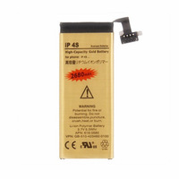 2680mAh High Capacity Gold Battery Mobile Phone Replacement Business Battery For iPhone 4S