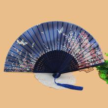 silk folding fan promotion