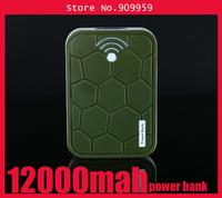 10pcs /lot Fashion Tortoise LED Lamp Power bank 12000mAh Turtle universal mobile power charging treasure