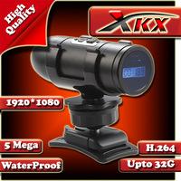 Free shipping Black AT82 HD1080p Car DVR  Outdoor Waterproof Sport Camcorder Camera  Bicycle  10M Waterproof 130 - degree views