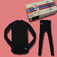 Hydroscopic men Women elastic thermal underwear autumn quick-drying functionality underwear set