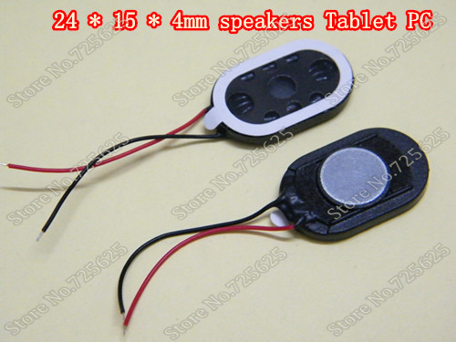 24 * 15 * 4mm widely used for laptop speakers, Tablet PC speakers(China (Mainland))