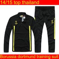 borussia dortmund  training suit   men soccer Champions League dortmund  tracksuits soccer jackets pants sportswear