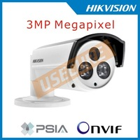 New Hikvision DS-2CD2232-I5 Network IP camera,3MP array Bullet Camera POE,3D DNR, Full HD1080p real-time,IP66,HD IP camera