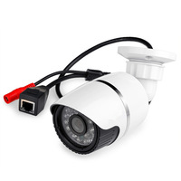 Onvif 1280*720P outdoor HD H.264 p2p network security Bullet IP Camera support CMS software