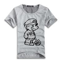 free shipping! men t shirt short-sleeve 3d T couple rock casual cartoon marry t printed t shirt