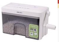 Right hand 9934 hand shredder household mini manual shredder paper shredder crushed cd credit card